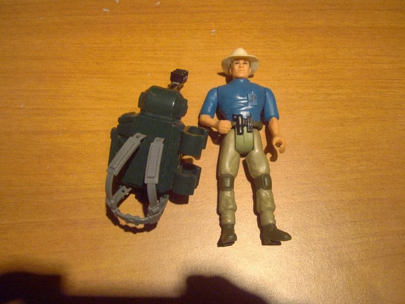 Cerco action figures e dinosauri Jurassic park Jp10