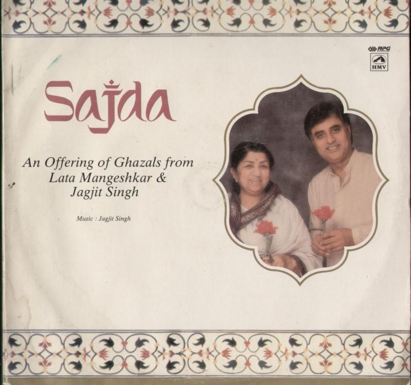 Jagjit Singh & Lata Mangeshkar - Sajda  Saj110