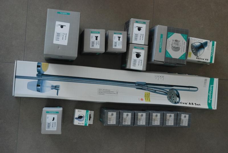 vends sanitaire duravit / hansgrohé  2012_m11