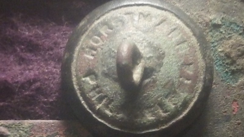 Was Coin hunting today and still managed my best button find!!! Updated Info  100_0512