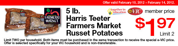 $1.97 for 5 pounds of potatoes  02_evi11