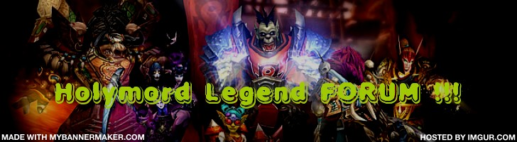 Holymord Legend FORUM