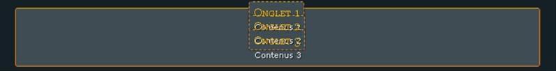 Tableau à onglet Screen13