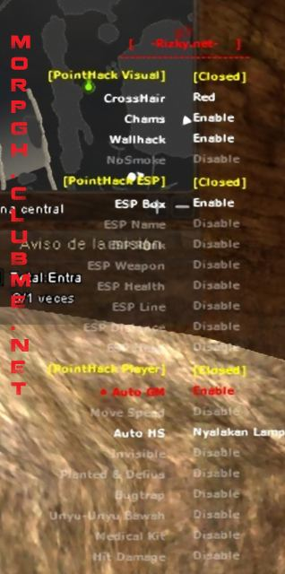 Hack Completo (Wall-Aimbot-Chams-SpeedHack-2Hits-Kill)  Pointb19
