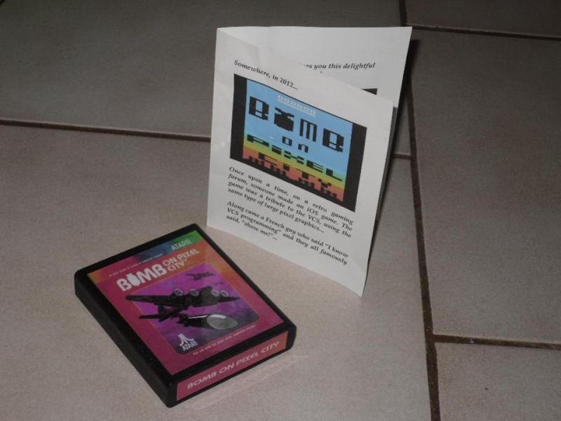 BOMB ON PIXEL CITY - ATARI 2600 Bomb10