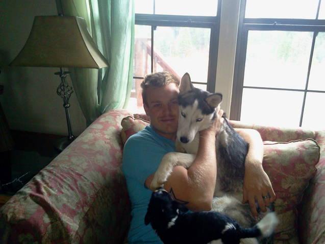 Real men love huskies and malamutes! Brianr10