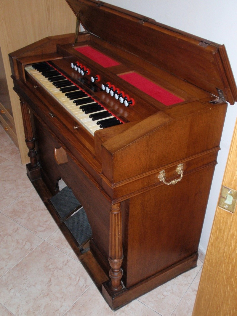 """Mon """"petit"""" harmonium Christophe et Etienne 2510"""