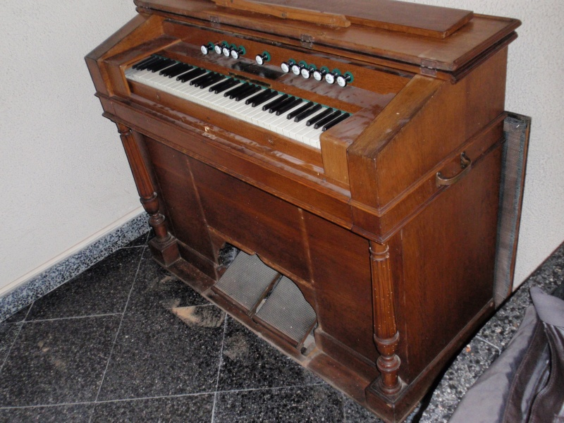 """Mon """"petit"""" harmonium Christophe et Etienne 410"""