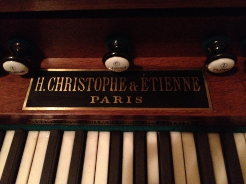"""Mon """"petit"""" harmonium Christophe et Etienne 810"""