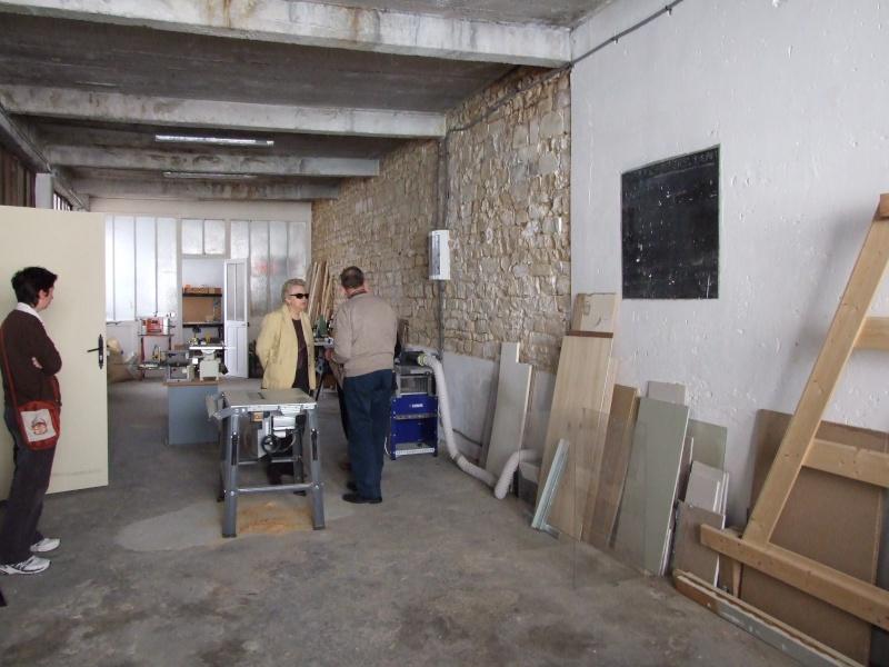 Atelier Associatif Castelrousin Bois Maquette Chantournage Inaugu11
