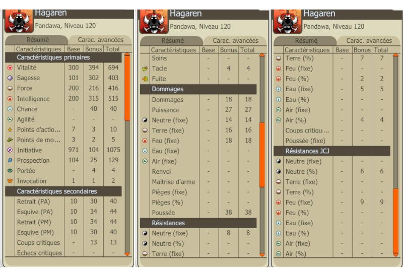 Hagaren - Pandawa Feu/Terre Level 120 / 150 / 167 / 194 . Hagare11