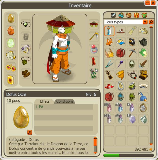 Hagaren - Pandawa Feu/Terre Level 120 / 150 / 167 / 194 . Stuff10