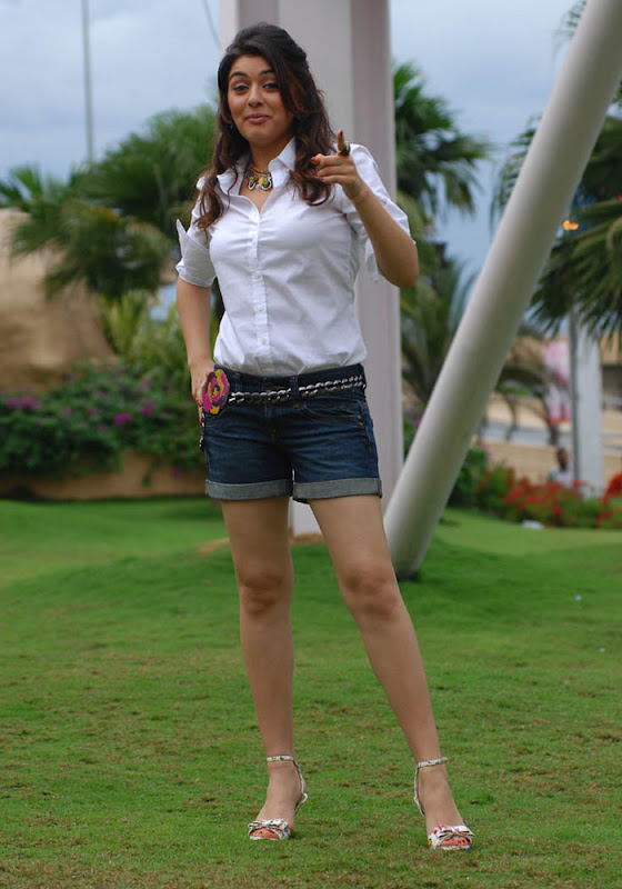 Hansika Spicy in Shorts Photo Gallery Hansik11