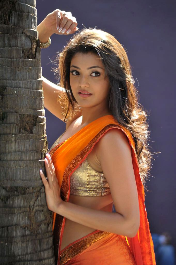காஜல் அகர்வால் [ Kajal Agarwal in Saree Spicy Photo Gallery ] Kajal-23