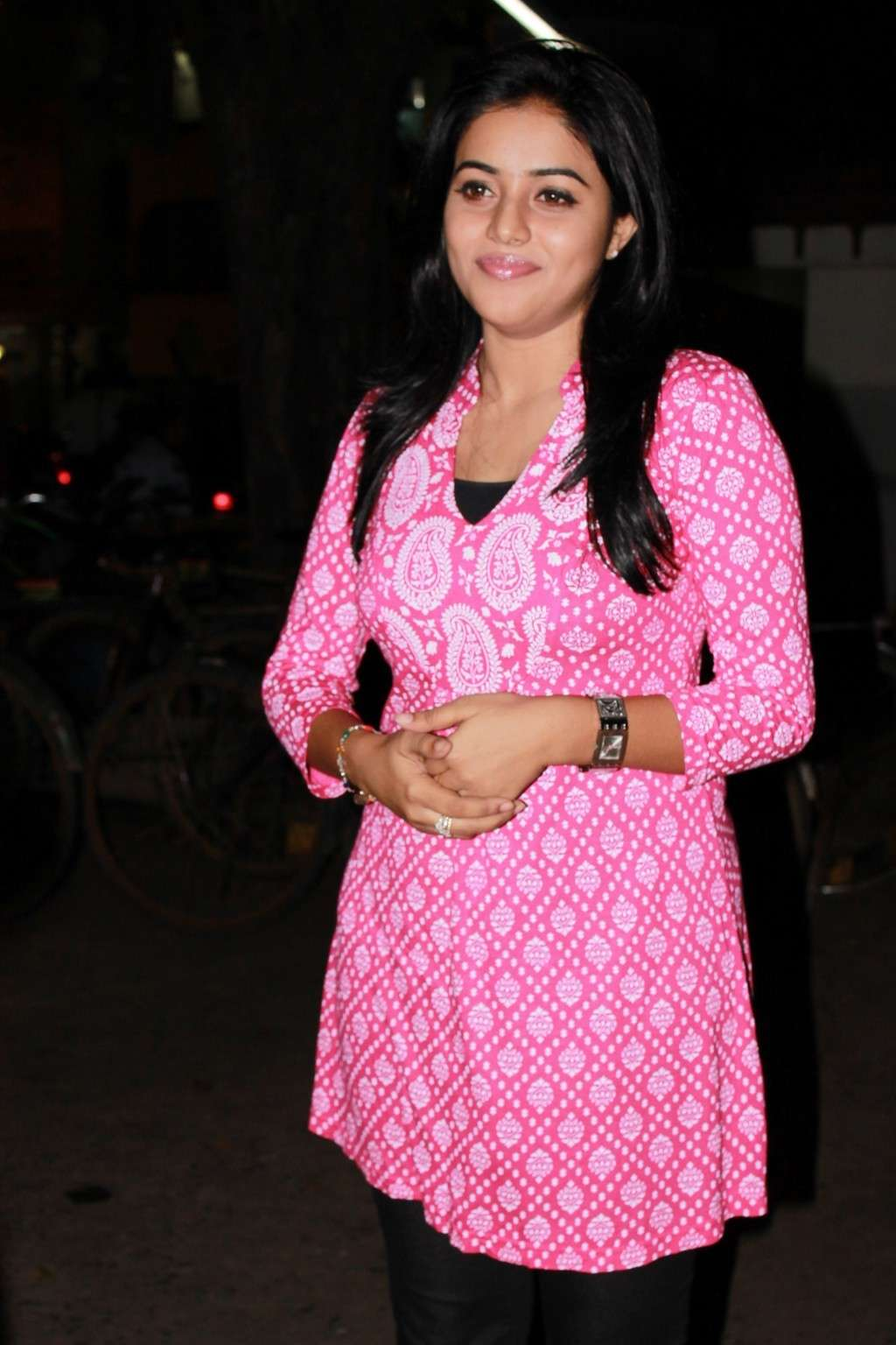 Poorna Bright in Pink Top Poorna14