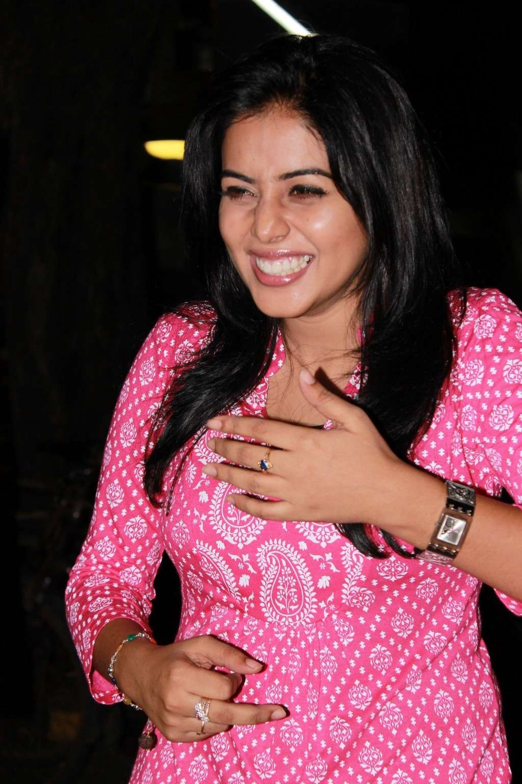 Poorna Bright in Pink Top Poorna17
