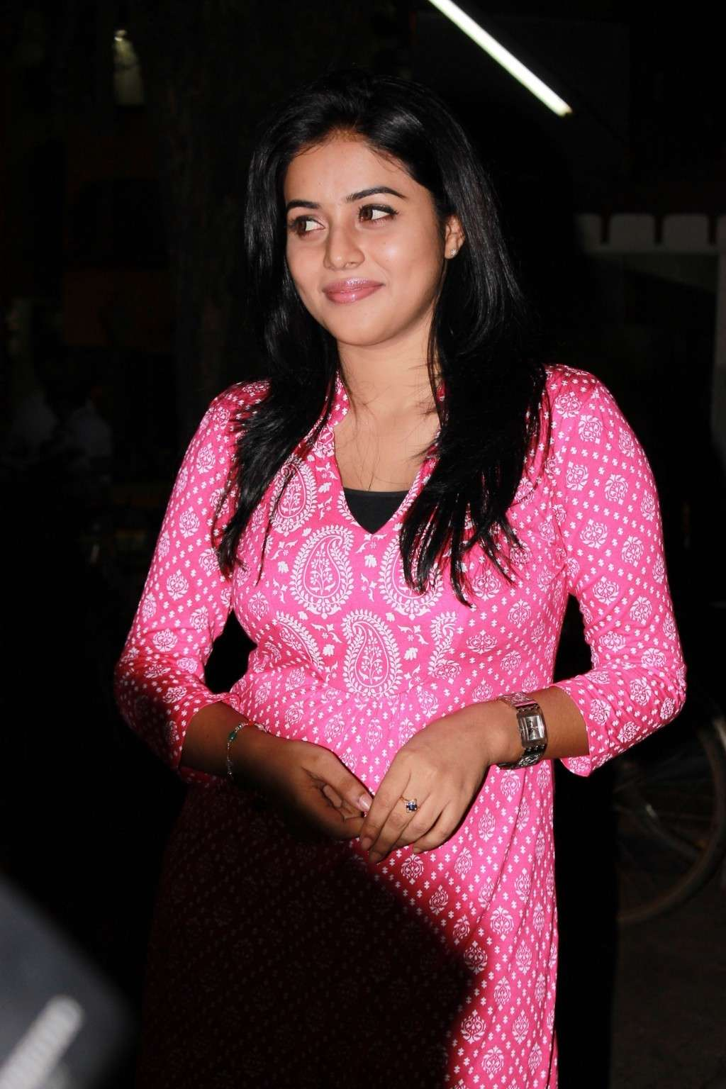 Poorna Bright in Pink Top Poorna19