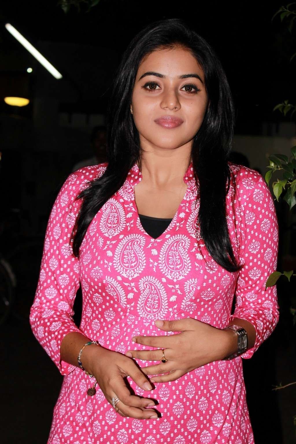 Poorna Bright in Pink Top Poorna23