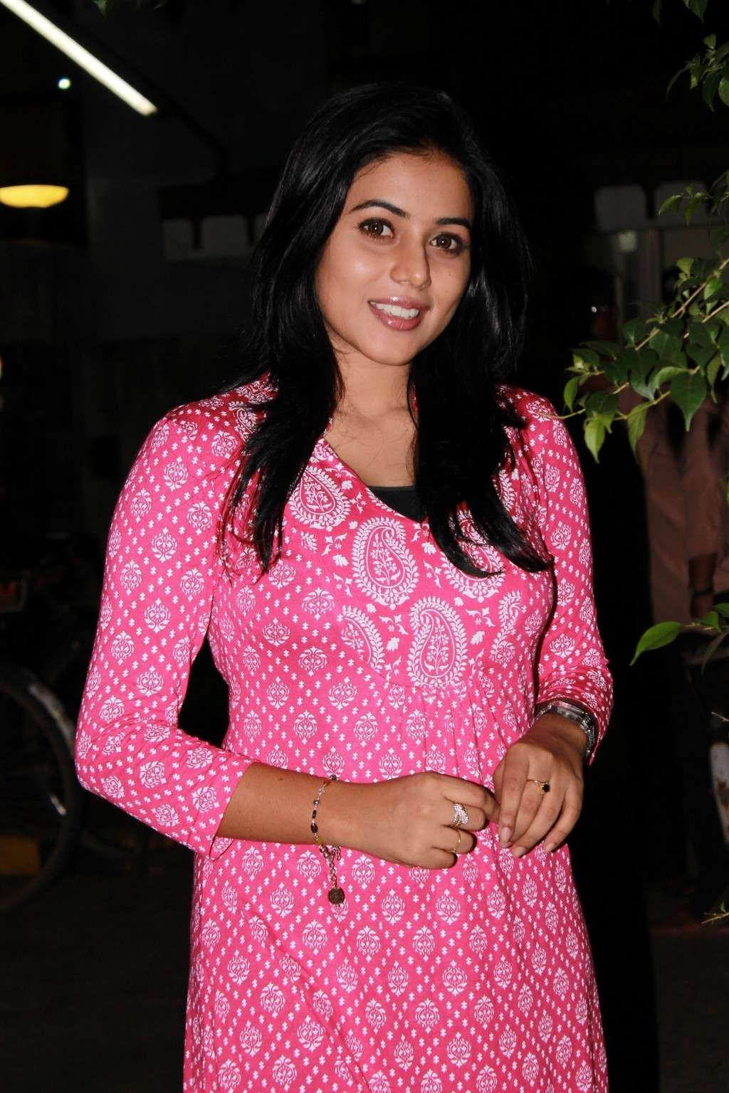 Poorna Bright in Pink Top Poorna24
