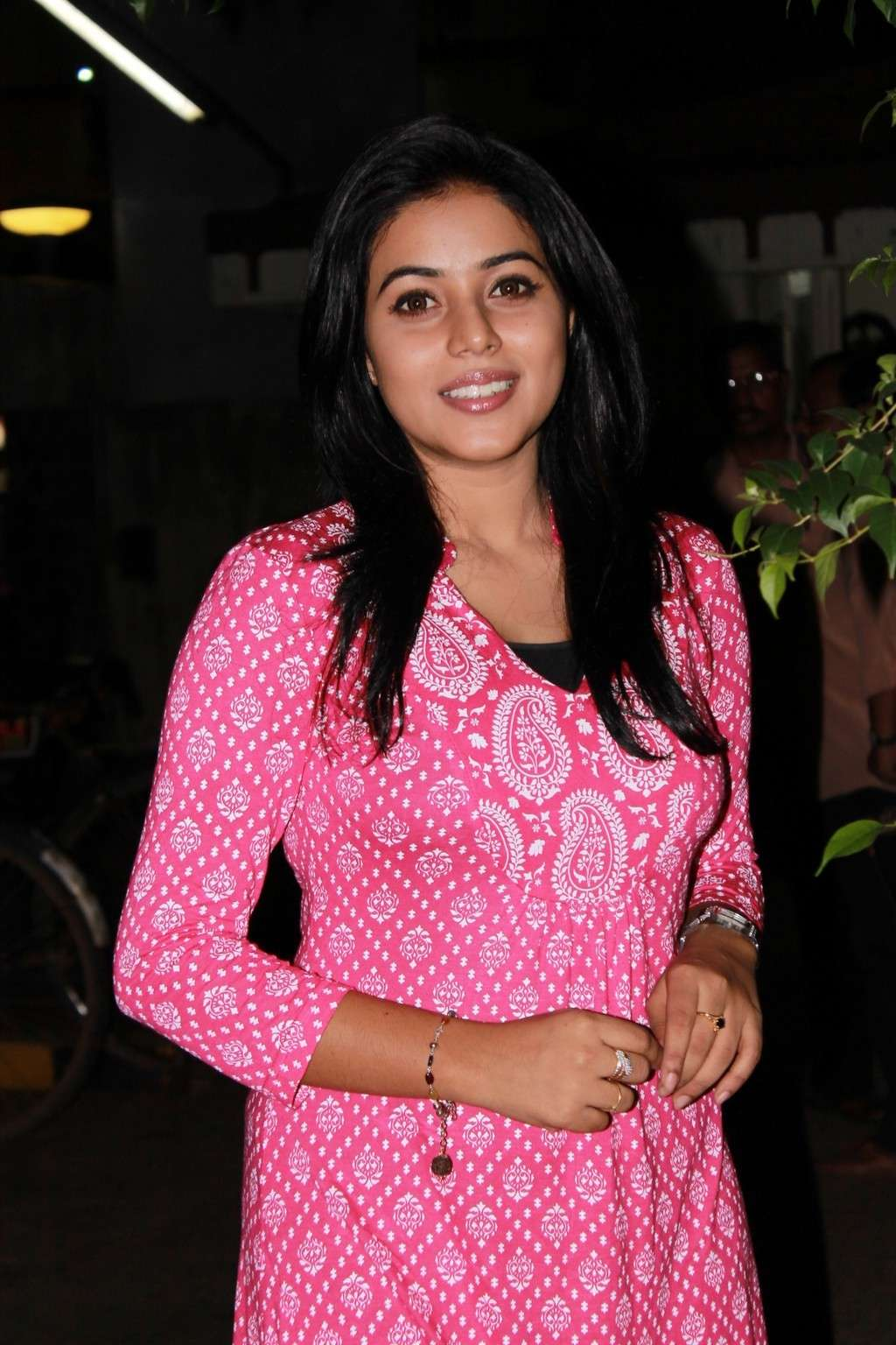Poorna Bright in Pink Top Poorna25