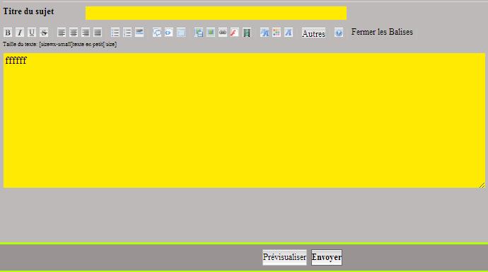 Formulaire a remplir lors d'un post sur un forum. 2012-113
