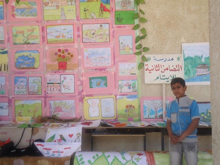 المعرض السنوي لرسومات وتصاميم الطلبة 416