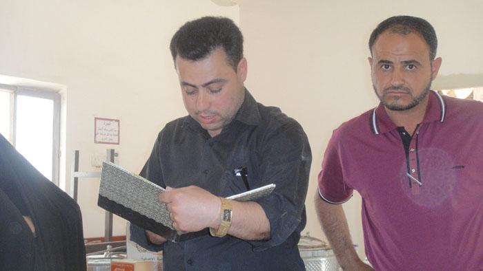 مبرة الشاكري الخيرية توزع مكائن خياطة على الأرامل في ناحية النص 615