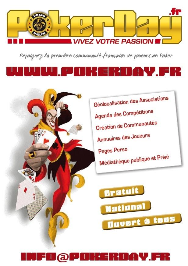 5/6/7/8 Mai 2012 / 900 joueurs / Evreux Poker Day Flyers11
