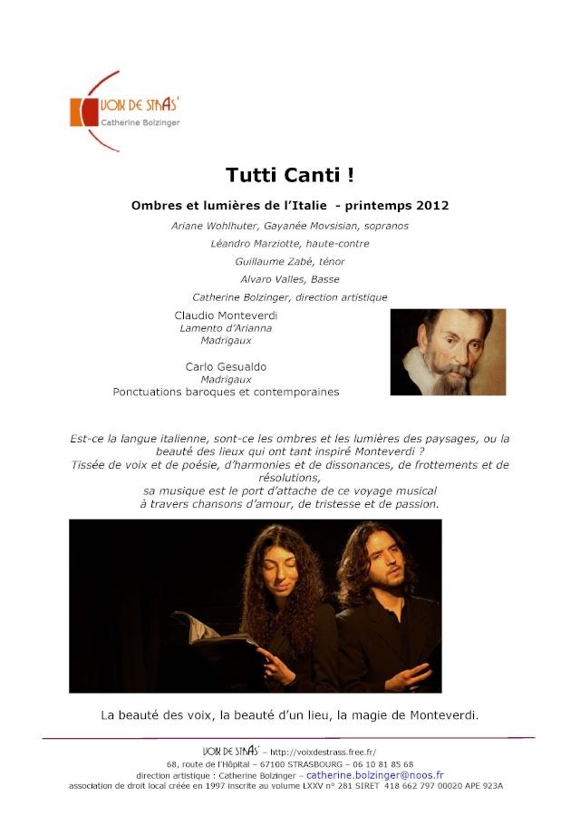 Concert par les Voix de Stras' samedi 14 avril 2012 à 20h30 en l'église Saint-Etienne de WANGEN Tutti_12