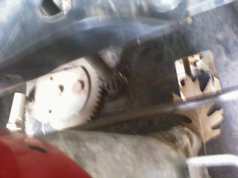 MTD steering slip issue. Photo310