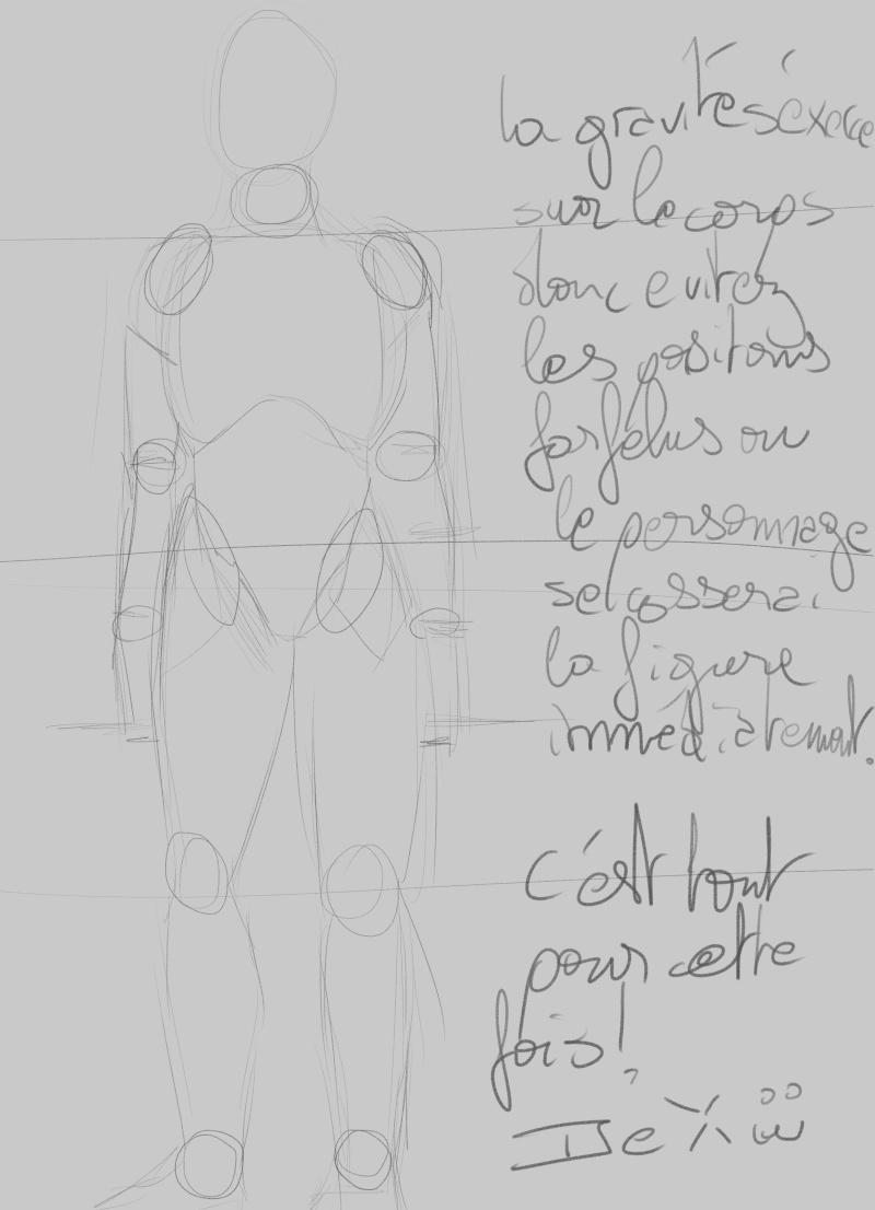 [How to?] Dessiner le corps humain : proportions et conseils de mise en place[by Dexteria] Corps112
