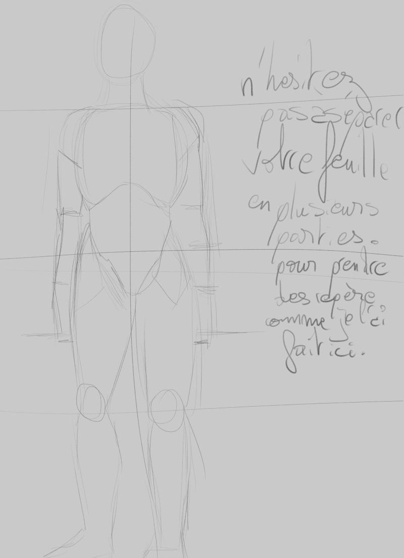 [How to?] Dessiner le corps humain : proportions et conseils de mise en place[by Dexteria] Corps210