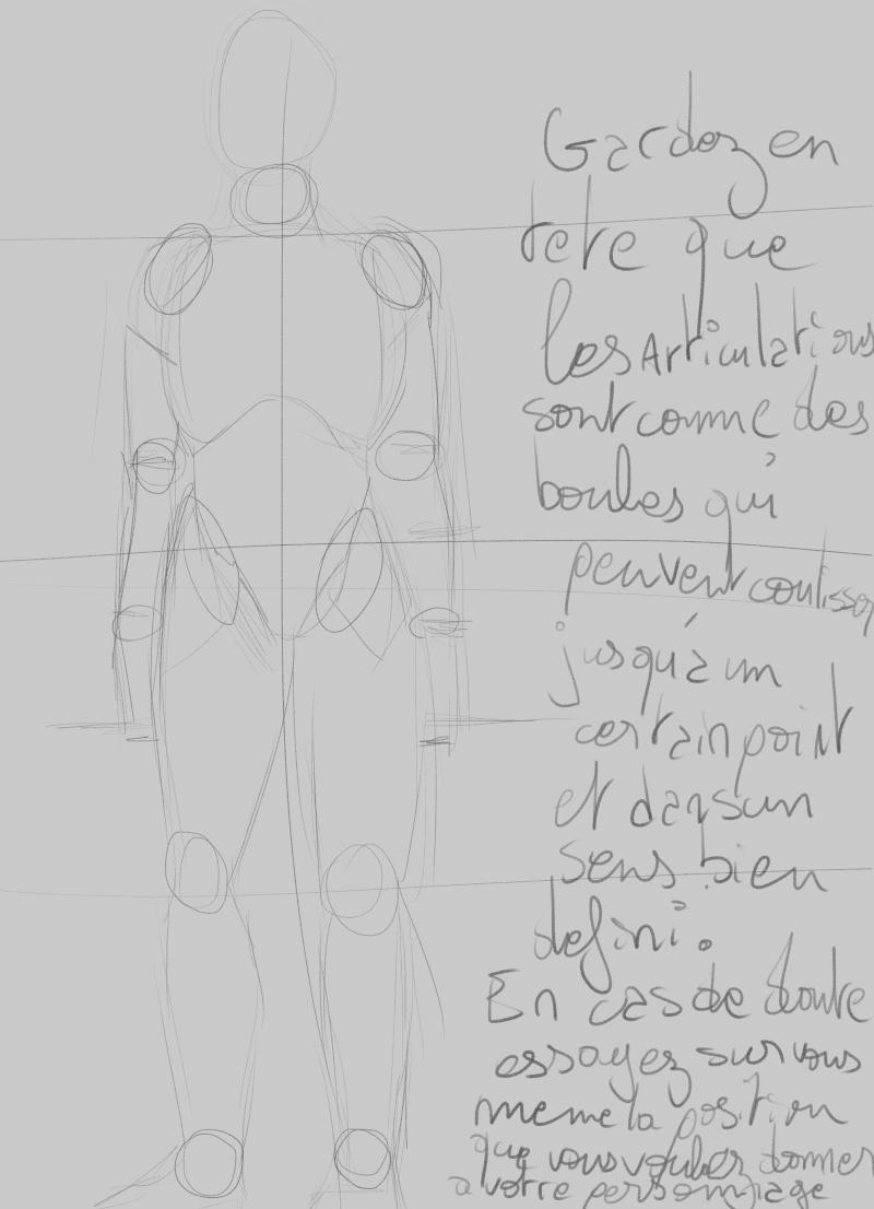 [How to?] Dessiner le corps humain : proportions et conseils de mise en place[by Dexteria] Corps410
