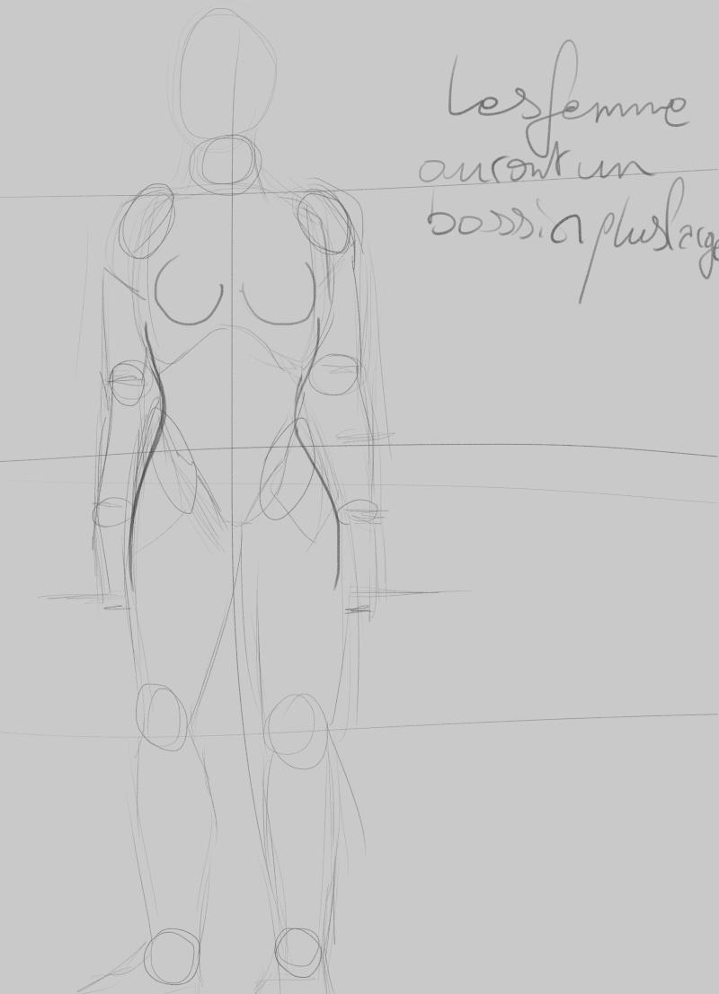 [How to?] Dessiner le corps humain : proportions et conseils de mise en place[by Dexteria] Corps510