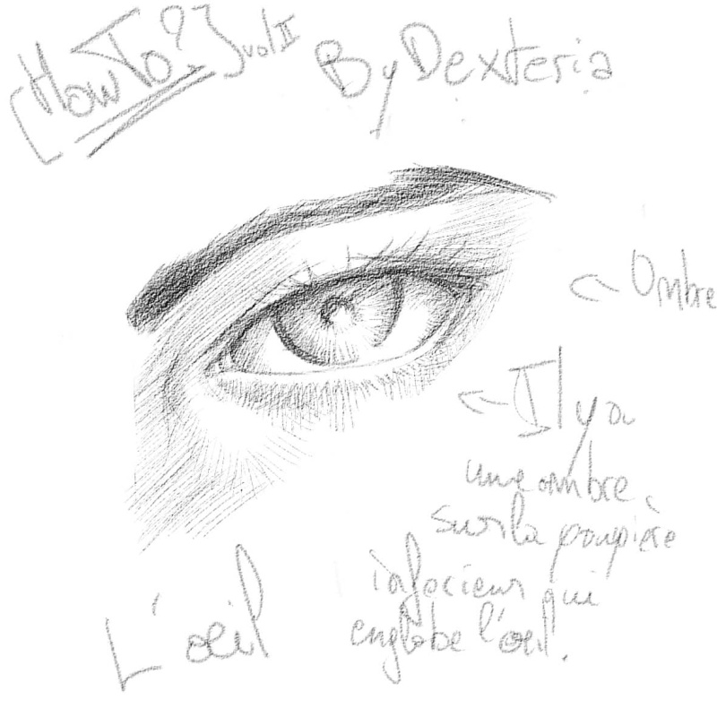 [How To?] Draw eyes. By Dexteria Oeil1110