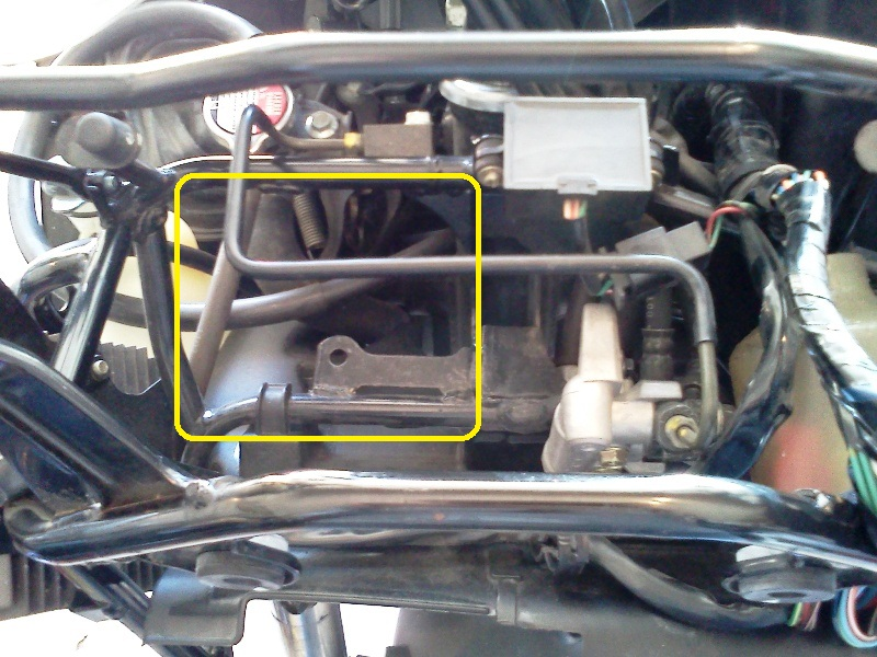 horn replacement on swing 2004-f11
