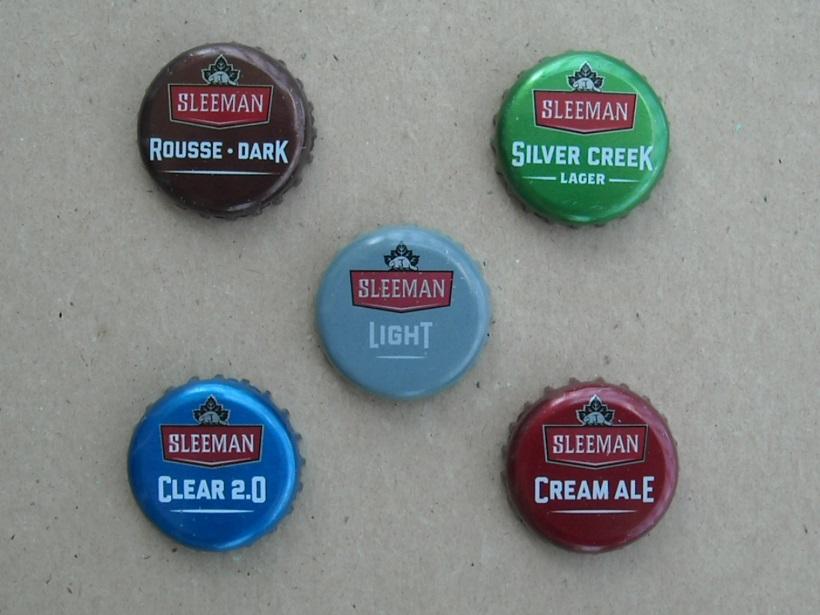 Brasserie Sleeman nouvelles capsules Rscn5819