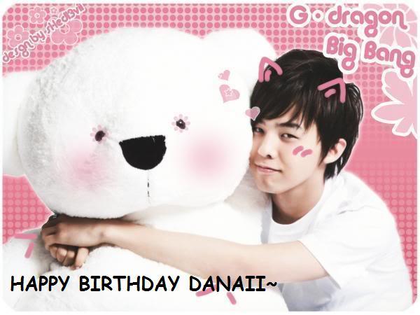 Danaii's B-Day ! !<3 Gdrago10
