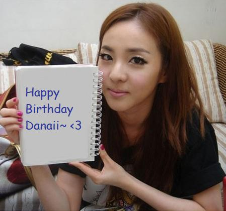 Danaii's B-Day ! !<3 Top810