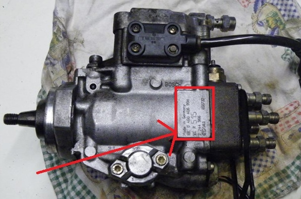 Numéro moteur et pompe Emplac11