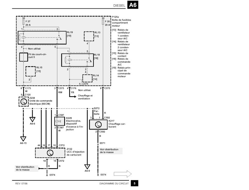 comment contrôler son circuit complet de préchauffage 2,5 DSE Precch10