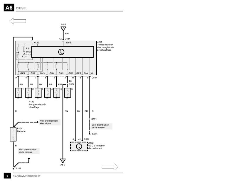 comment contrôler son circuit complet de préchauffage 2,5 DSE Precch11