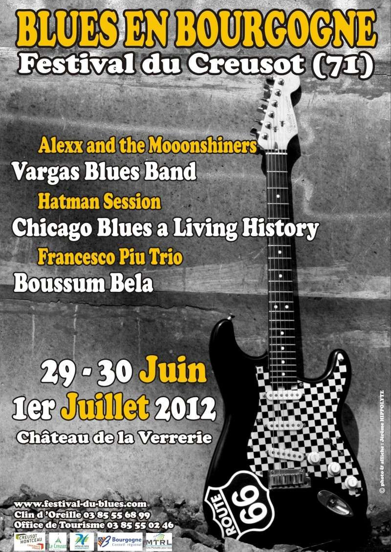 BLUES EN BOURGOGNE - FESTIVAL DU CREUSOT Affich12