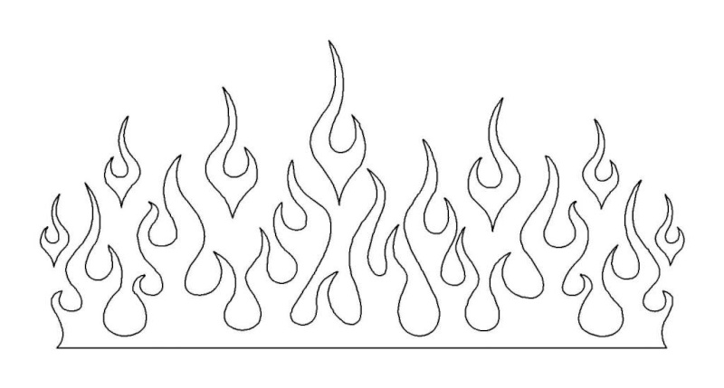 MonoKote... Flame Designs