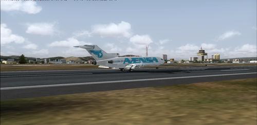 Primeros vuels de 727  EN LA AEROLINEA 727_ba10