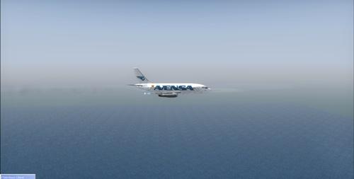 Vuelos de lanzamiento de AVENSA 737_2010