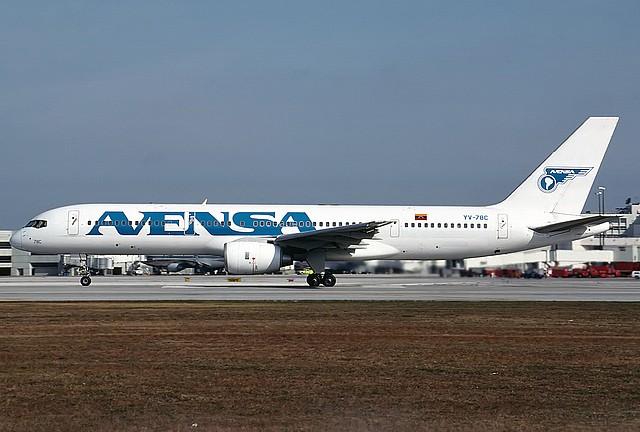 Nuestras aeronaves Avensa13