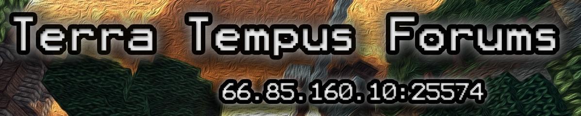Terra-Tempus Forums