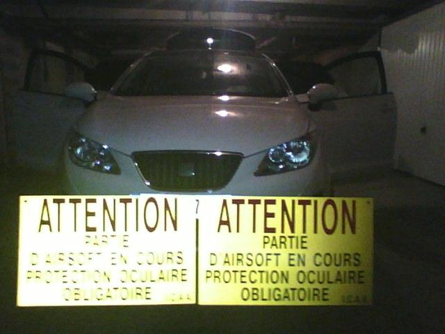 Panneaux signalisation de parties 2012-014