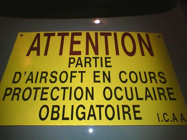 Panneaux signalisation de parties 2012-015